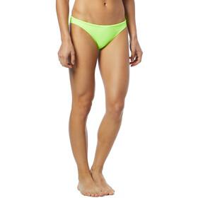 TYR Solid Mini Bas de bikini Femme, fluo yellow
